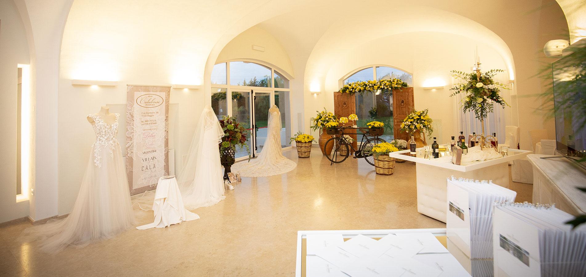 Location per ricevimenti a Foggia per matrimoni in Puglia
